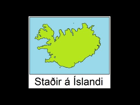 Icelandic Lesson #28: Places in Iceland - Pronunciation