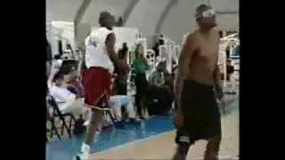 RARE Footage: Shirts & Skins Game @ The Jordan Dome In Los Angeles feat. M. Jordan & More (1995)!