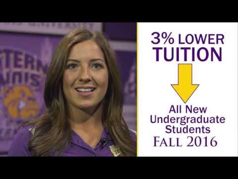 western:-3-percent-reduction-for-fall-'16-undergraduates-(30-sec)