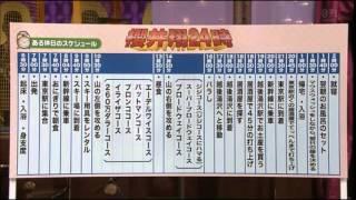 櫻井翔の休日のスケジュールは過酷だ。 あまり休みがないのでこんなに詰...