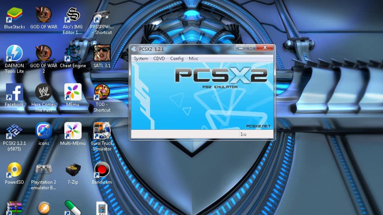 How to install iso file game in pcsx2 emulator