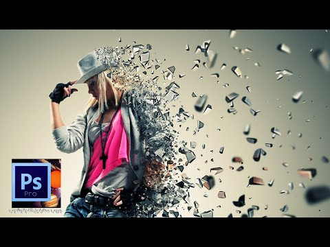 install 3D Dispersion Photoshop Action