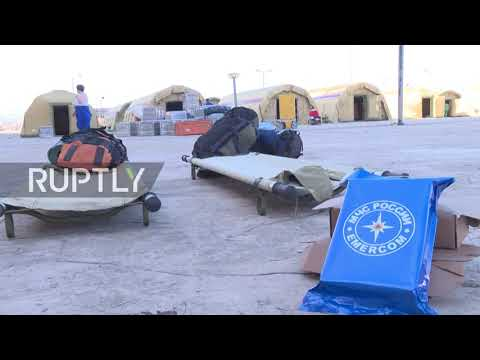 Lebanon: Russian EMERCOM sets up airmobile hospital in Beirut