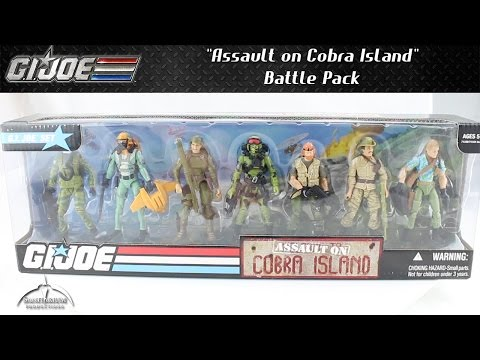 GI Joe Assault on Cobra Island Box Set Unboxing and Review