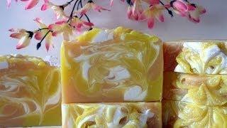 Making Apricot Delight Soap