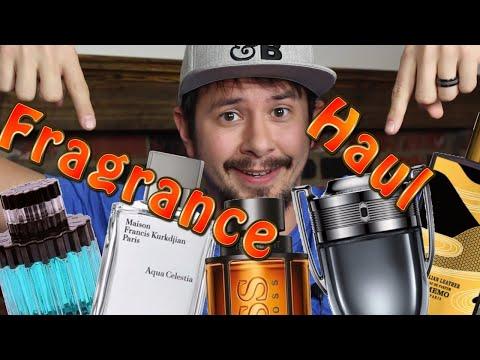 HUGE Fragrance Haul | Mens Designer Fragrances | Mens Niche Fragrances
