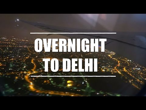 On our way to Singapore : Overnight flight to India
