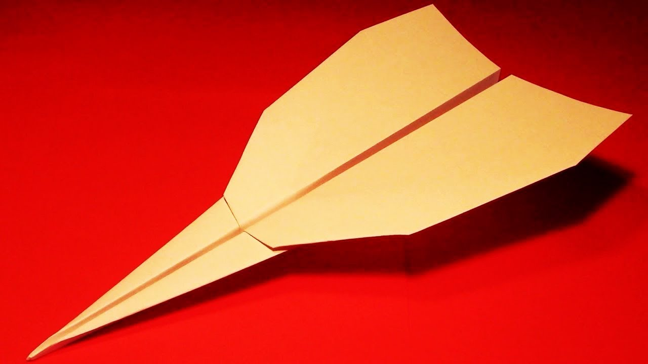 how to make paper planes that go far