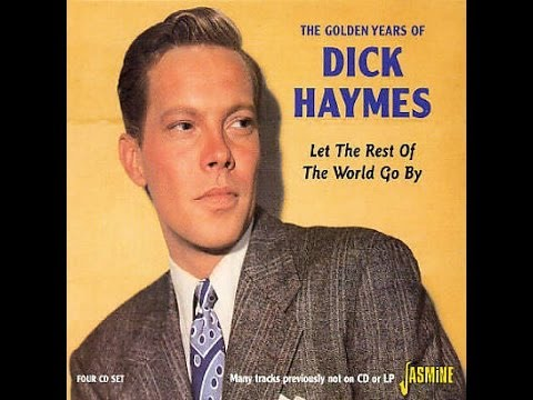 Dick Haymes The Girl On The Magazine Cover Youtube