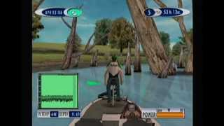 Sega Bass Fishing 2 Gameplay - Cormorant Cove - Sega Dreamcast