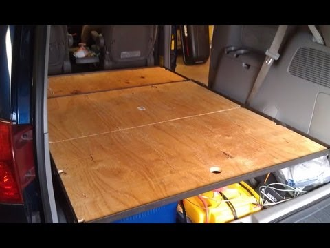 Van Build Part 6 - Platform Bed Build Part 3 - Blackout curt