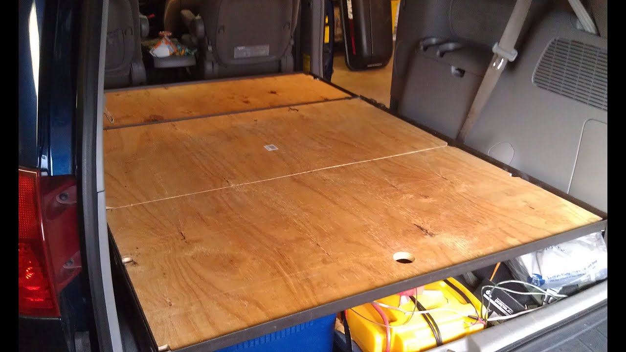 van build part 6 platform bed build part 3 blackout curtain bike rack test battery hold down youtube