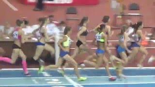 Чемпионат России. Бег 1500 метров, женщины. Сильнейший забег
