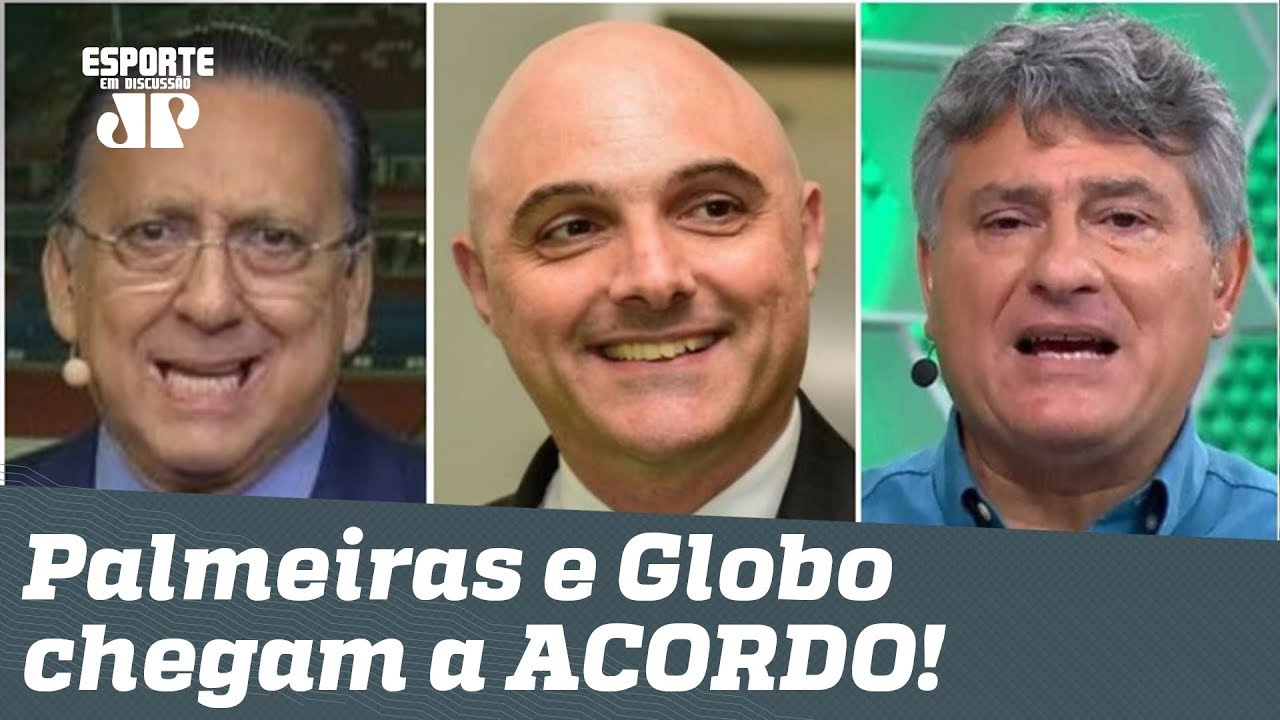 FIM da BRIGA! OLHA quanto o Palmeiras vai ganhar da GLOBO!