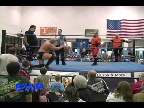 BEAU JAMES & DAVID YOUNG Vs DEATH ROW INMATES EWP Wrestling.wmv