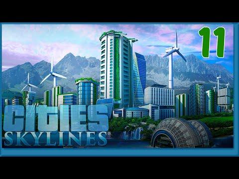 Cities Skylines Ep11   Electricité Général !!