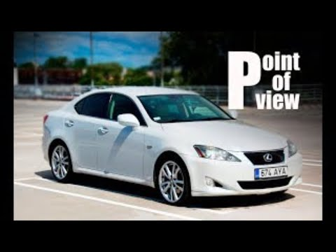 2006 Lexus IS250 Luxury Aut POV test drive and review
