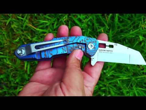 Titanium Knife Anodizing Services