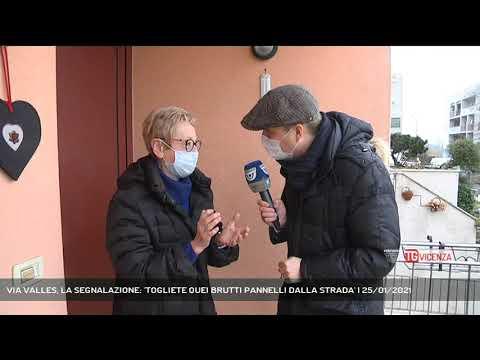 VIA VALLES, LA SEGNALAZIONE: 'TOGLIETE QUEI BRUTTI...