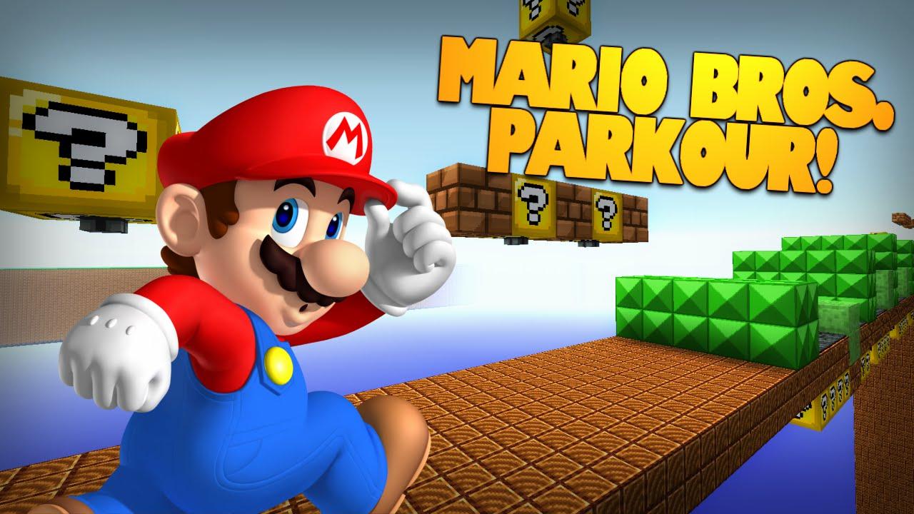 Minecraft Super Mario Bros Parkour Nes Mario Parkour