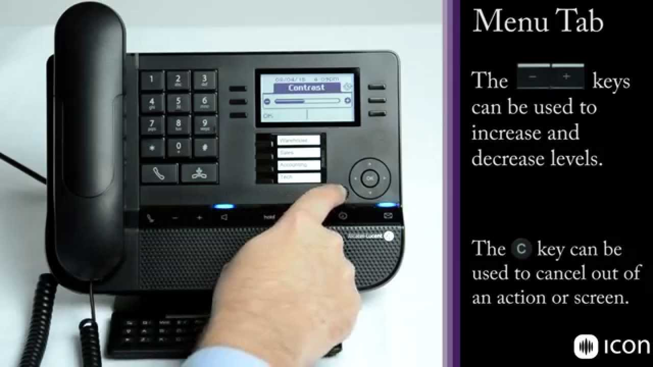 alcatel lucent 8028 8029 premium deskphone on oxe demo and user rh youtube com Avaya Lucent Partner 18D Manual Avaya Lucent Partner 18D Manual