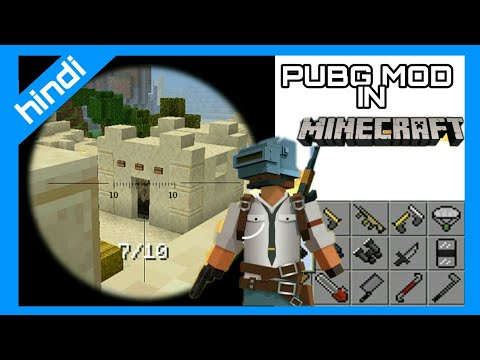 How To Add PUBG Mod In Mcpe ||AI AMAZING INVENTION||