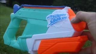 Nerf Splash Mouth Review and firing demo (re-upload)