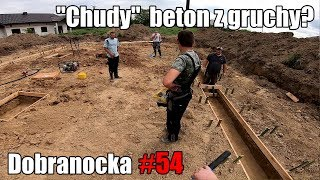 Dobranocka #54 - Chudy beton z gruchy? Szybciej? Taniej? #domza150tysiecy.pl #serial