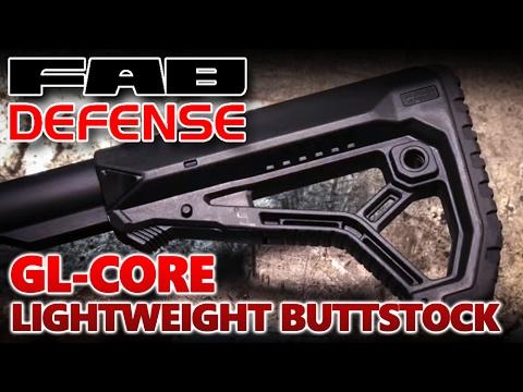 Fab Defense GL-Core Lightweight Buttstock
