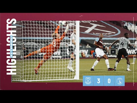 EXTENDED HIGHLIGHTS | WEST HAM UNITED 3-0 CHARLTON ATHLETIC