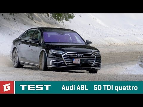 AUDI A8L 50 TDI quattro NEW ENG SUBTITLES TEST Garaz.TV Raso Chv la