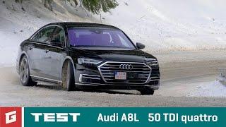 AUDI A8L 50 TDI quattro - NEW ENG SUBTITLES !!! TEST - Garaz.TV - Rasťo Chvála