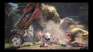 MHW: Dual Blade vs Tempered Deviljho