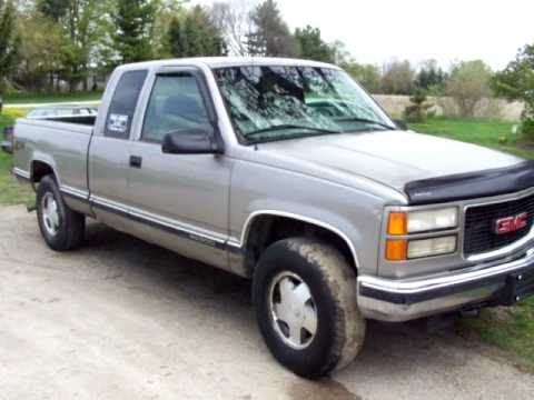1998 GMC K1500 Ext Cab Z71 For Sale - YouTube