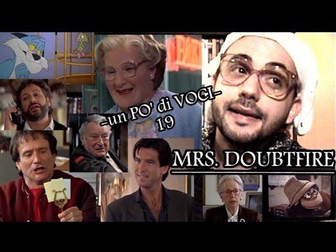 -un PO' di VOCI- 19: MRS. DOUBTFIRE (Omaggio a Robin Williams)