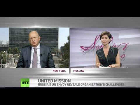 Interview with V.Nebenzia, PR of the Russian Federation to the UN by RT «SophieCo», 08.09.2017