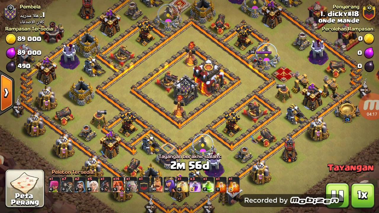 Pertahanan Base Coc Th 10 Terkuat 5
