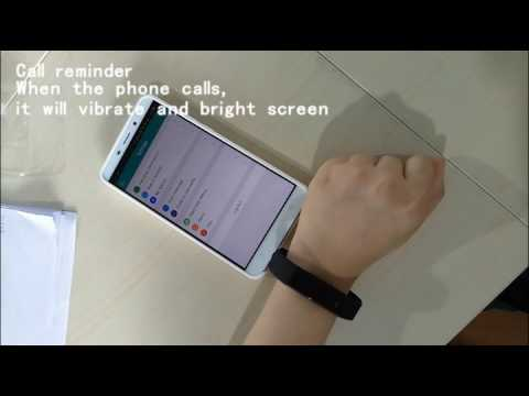 Smart Bracelet 2 0 Version User Manual Youtube