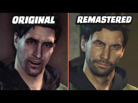 Alan Wake Remastered vs Original | Graphics Comparison