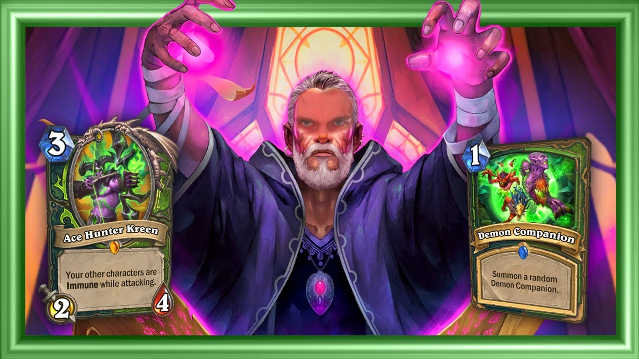 Master of the NEW COMPANIONS! Constructed Highlander Hunter (Hearthstone: Scholomance Academy) thumbnail