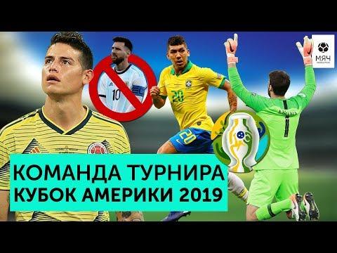 Команда турнира Копа Америка 2019 | Психованный Месси, непробиваемый Алиссон и сенсация от Перу