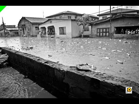Early Morning Rain Threatening LG Election In Lagos, As Flood Takes Over (Watch Video)