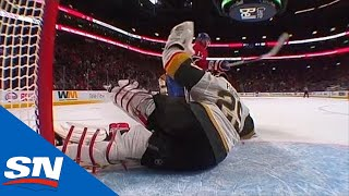 Marc-Andre Fleury Pulls Windmill Save To Rob Ilya Kovalchuk In Overtime
