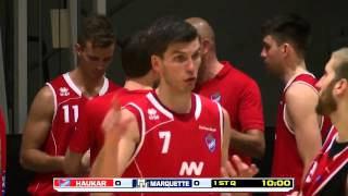 Haukar Basketball Iceland vs  Marquette University   Aug  12, 2015