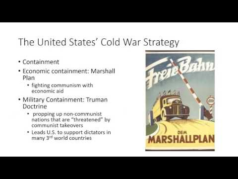 The Aftermath of WWII and the Beginning of the Cold War
