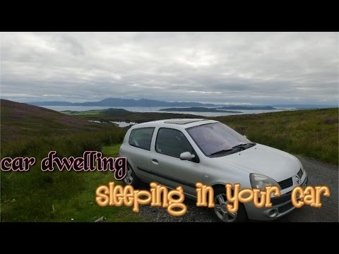 Wild camping scotland sleeping in your car uk and cooking spam