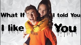 What if I told you I like you - Kenzie Ziegler and Johnny Orlando new song ( live version )