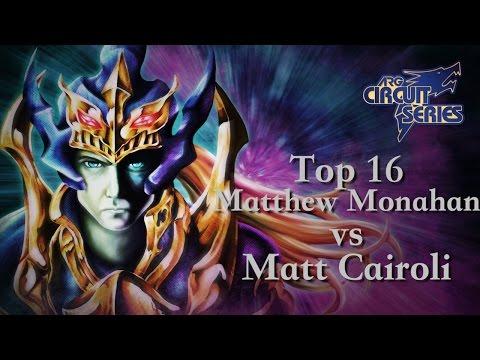 ARGCS Atlantic City 2015 Top 16 Matthew Monahan vs Matt Cairoli