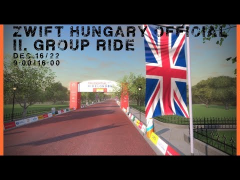 Zwift Hungary group ride PM 2018/12/16