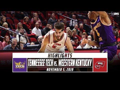 Tennessee Tech Vs. Western Kentucky Basketball Highlights (2019) | Stadium